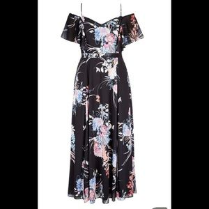City Chic Dresses - NWT City Chic Formal Floral Maxi Dress